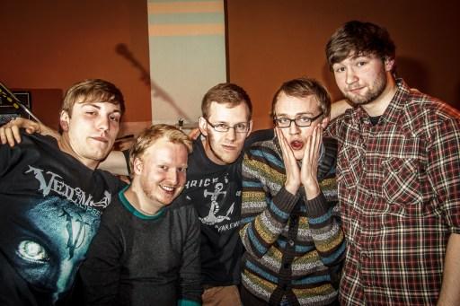 (v.l.) Danny, Wilhelm, Tony, Falk, Erik