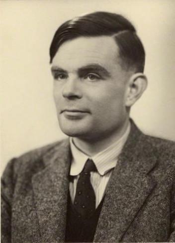 photo of Alan Turing
