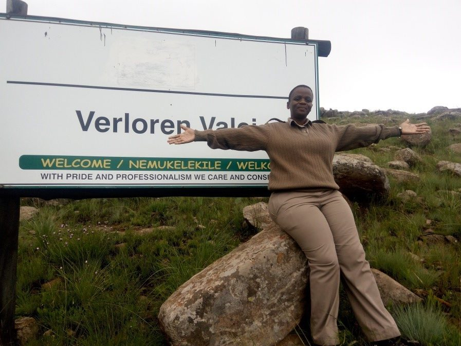 Phumzile Khoza, Verloren Valei's new manager - Ready for a new challenge