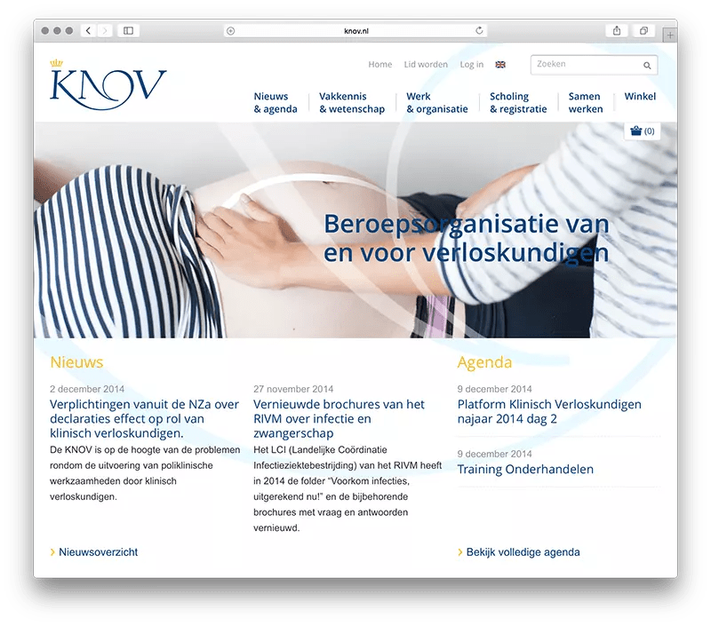 Open Website KNOV