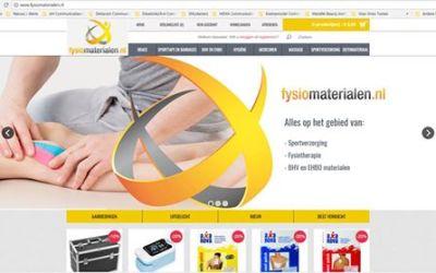 Webshop Fysiomaterialen.nl nu ook voor Belgische klanten