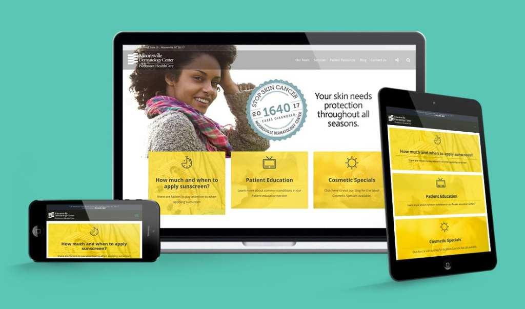 Moorseville Dermatology Website
