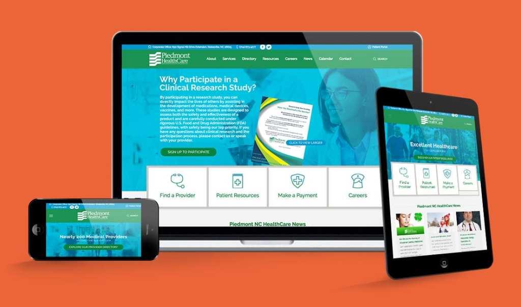 Piedmont HealthCare Website