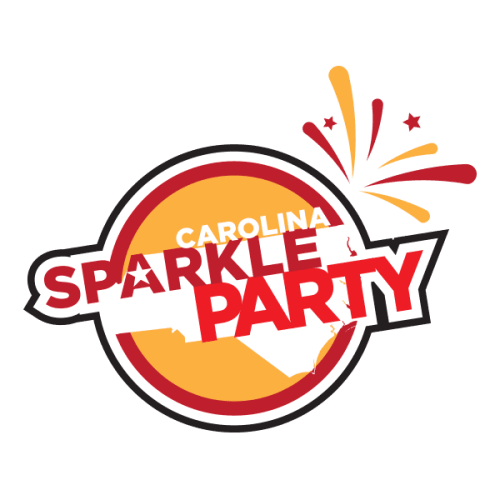 Carolina Sparkle Party Logo