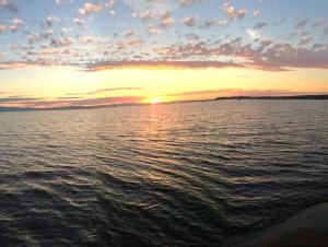 Burlington Vermont Sunset