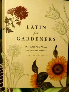 Latin for Gardeners is a Great Book!