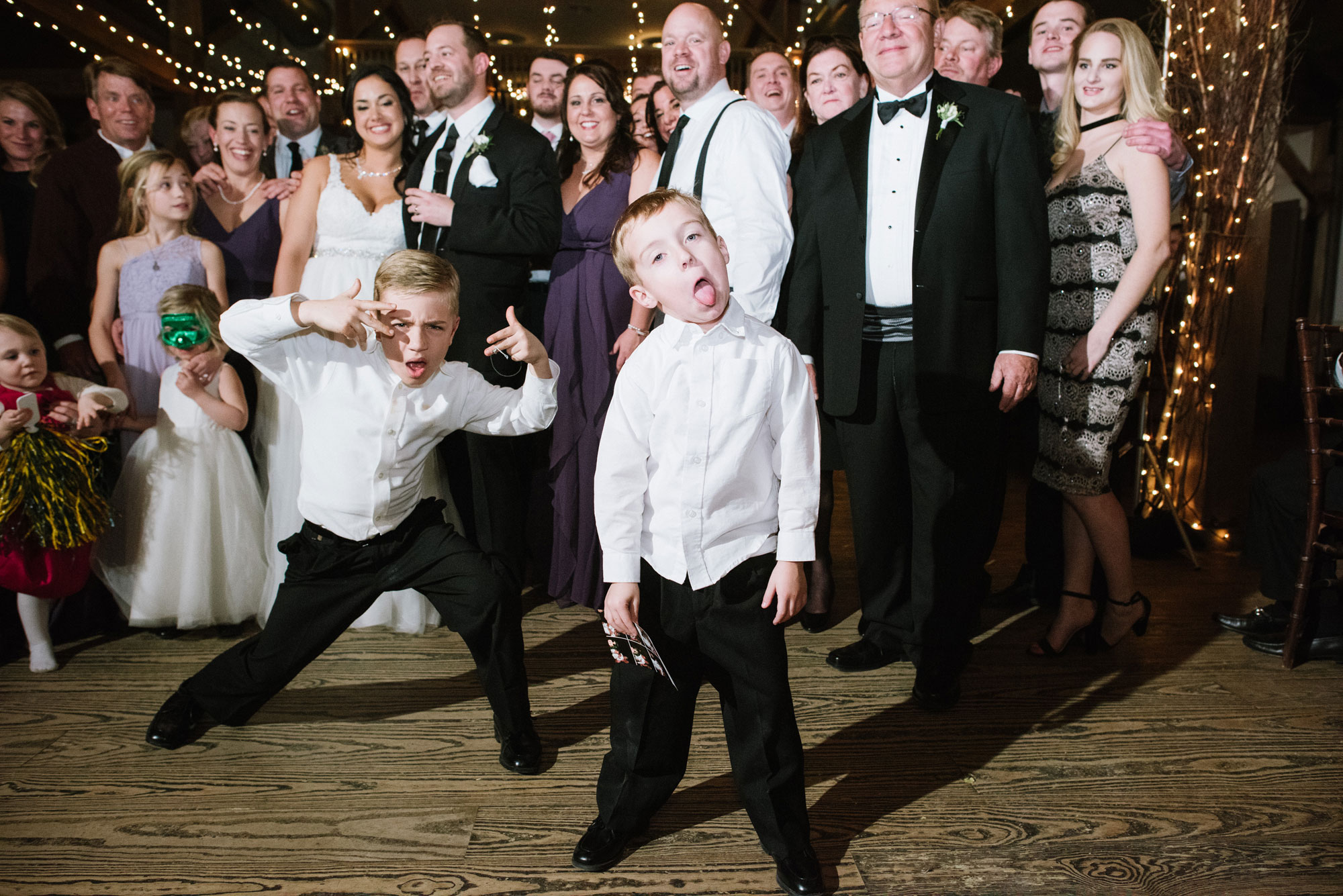 children and kids at weddings
