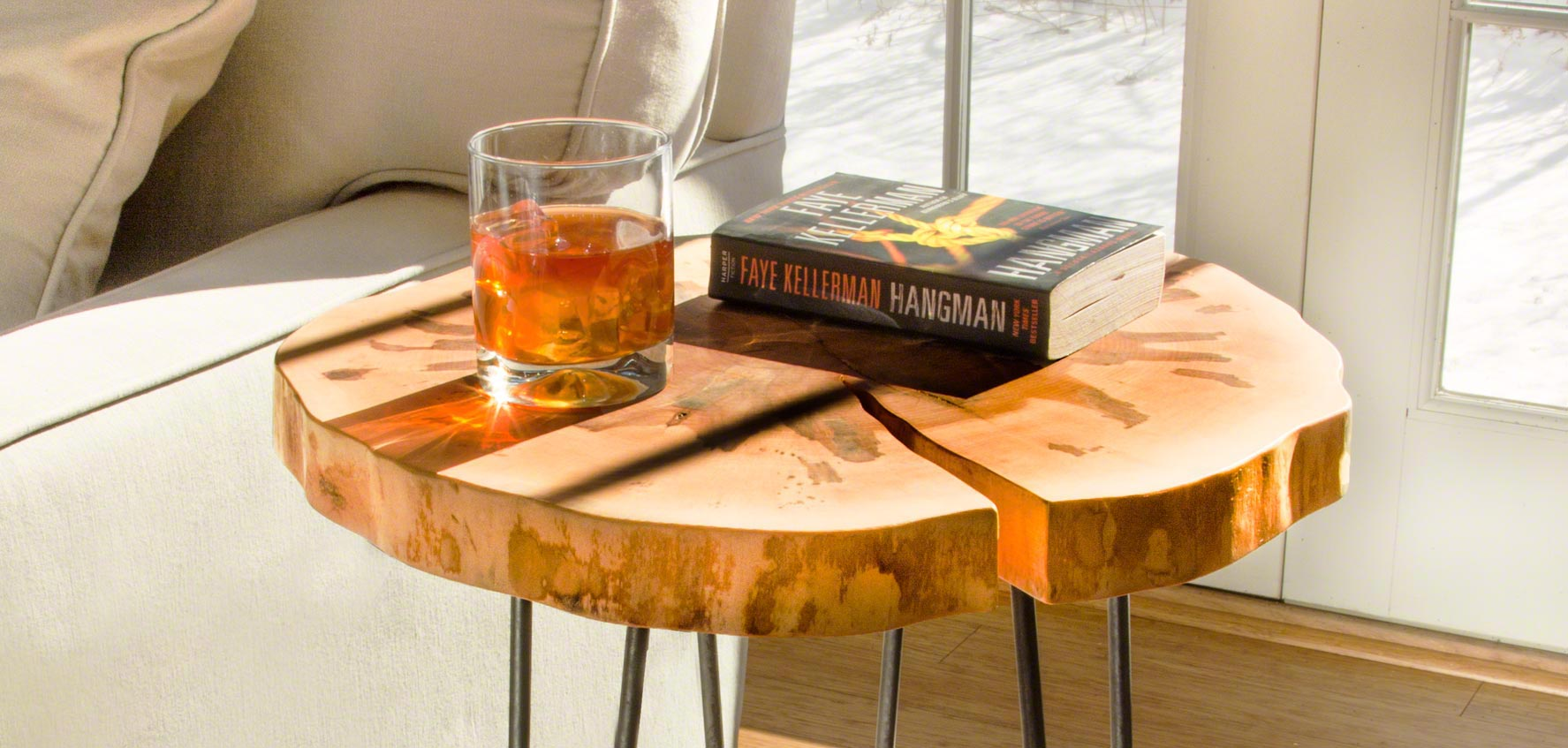 these handcrafted wood accent tables will add a touch of luxury and functionality to your hallway or living room customize online over the phone