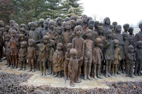 """Memorial to the executed children of Lidice"" by Marie Uchytilová"