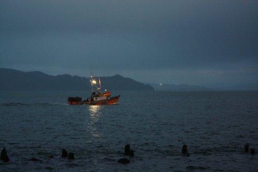 Fishing Boat in Astoria, Oregon