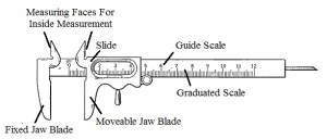 Vernier Caliper Standard Practices for Reading its Scales