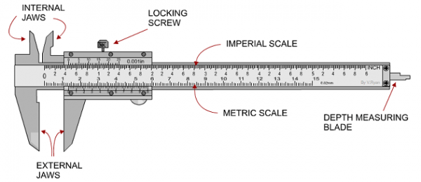 What is Vernier Caliper & What is it Used for?  Vernier