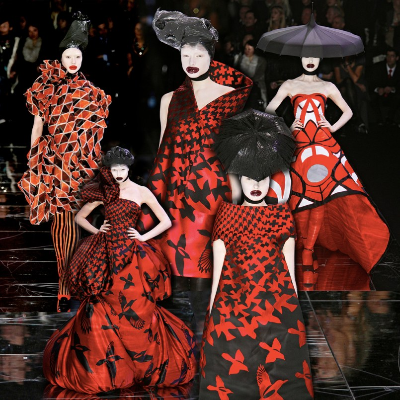 ALEXANDER McQUEEN: THE HORN OF PLENTY AW 2009