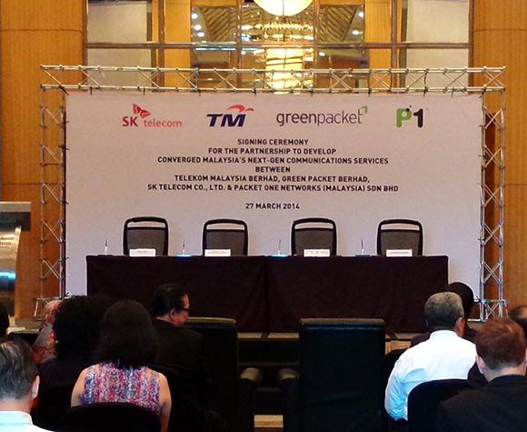 TM, P1, Green Packet, SK Telecom