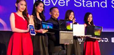 Lenovo Never Stand Still