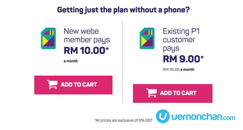 webe 4G LTE