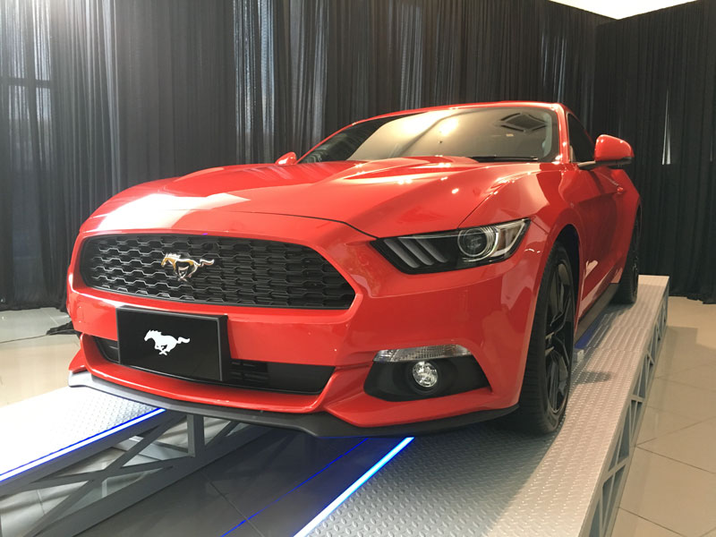 All New Ford Mustang