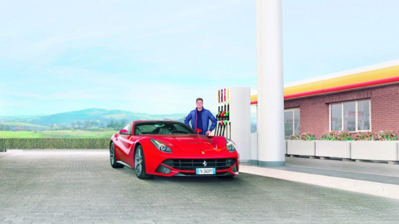 Sebastien Vettel Shell V-Power Racing