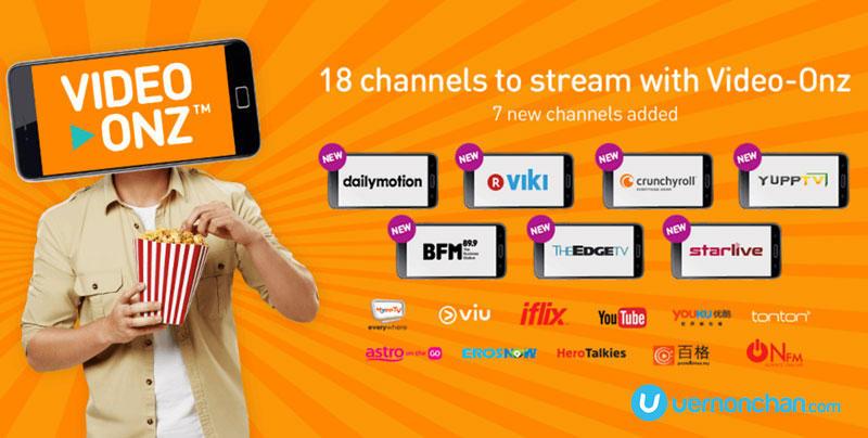 U Mobile Video-Onz partners