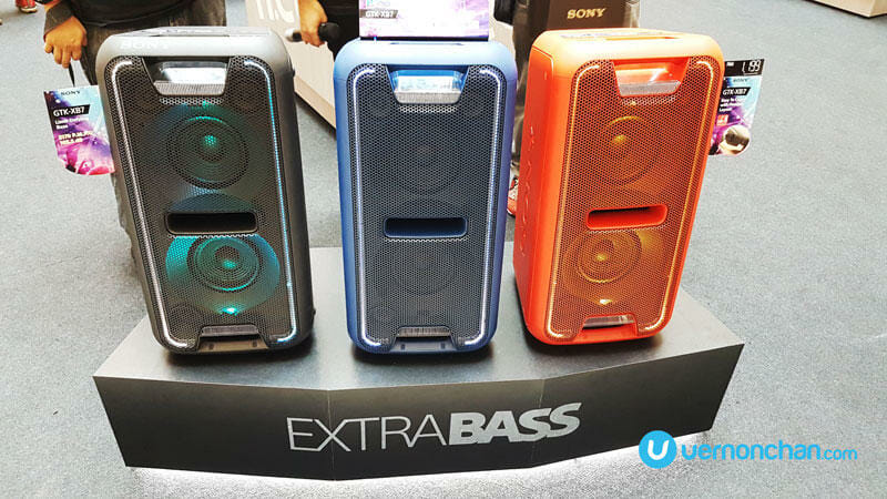 EXTRA BASS launch
