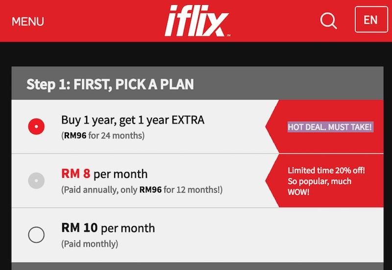 iflix Buy 1 Free 1