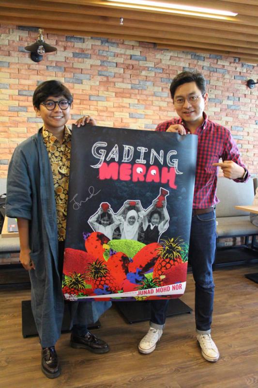 Junad Mohd Nor and Bernard Lee - Maxis Rojak 360