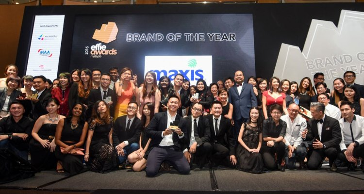 Maxis Effie Awards 2016