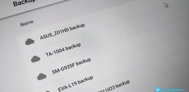 Google Drive Android Backup delete