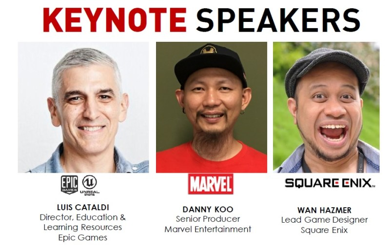 LEVEL UP KL 2017 keynote speakers
