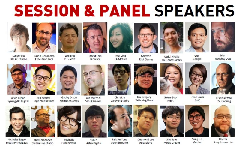 LEVEL UP KL 2017 Speakers