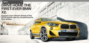 BMW X2 Registration of Interest