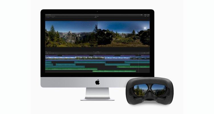 Final Cut Pro X 360-degree VR
