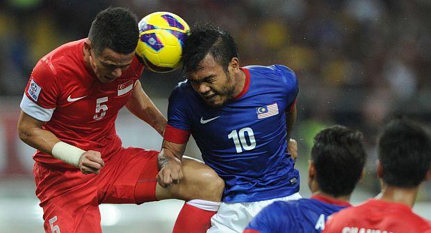 AFF Suzuki Cup 2012 - Malaysia vs Singapore. Image credit: Arep Kulal
