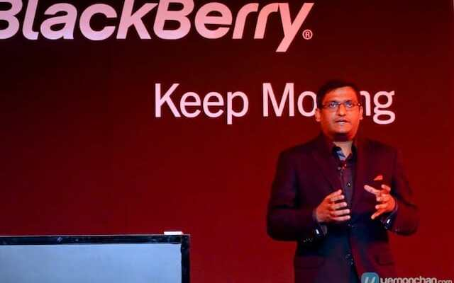 BlackBerry unveils the BlackBerry Q5.