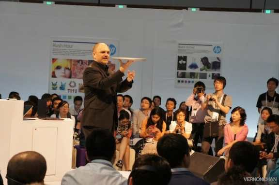 HP Global Influencer Summit 2012, Shanghai Expo Center, China