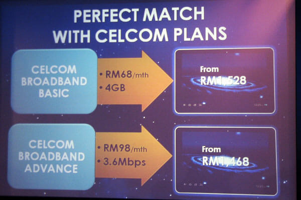 Celcom Plans