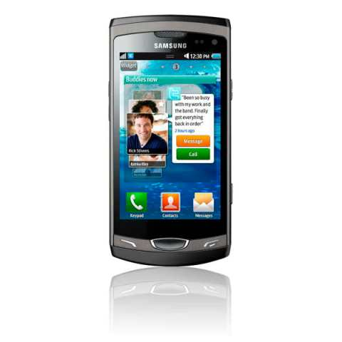 Samsung Wave 3 GT-S8530 front