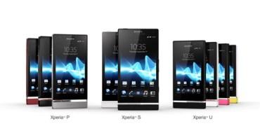 Sony Xperia Range