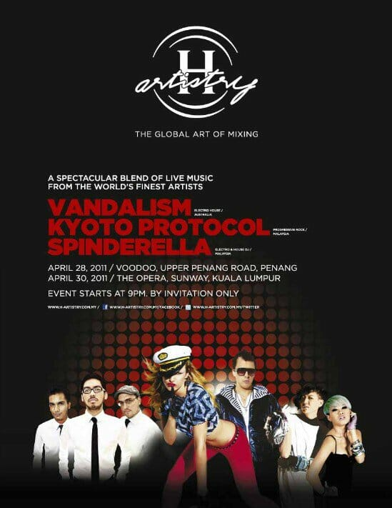 Hennessy Artistry Malaysia 2011