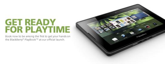 Maxis BlackBerry PlayBook