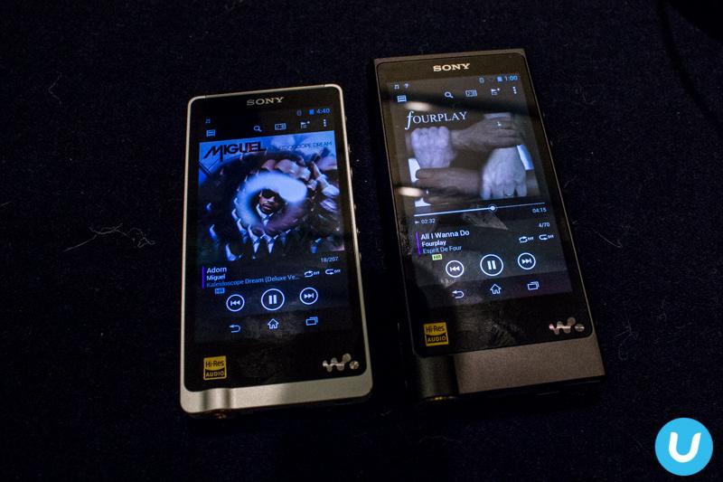 Walkman NW-ZX2 vs ZX1