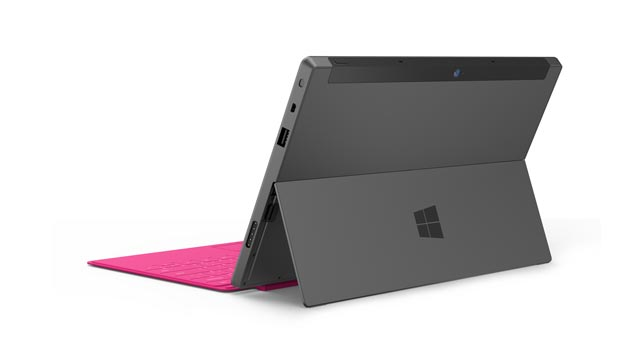 Microsoft Surface with Windows RT. Image credit: Microsoft