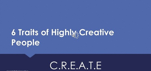 6 Traits of Highly Creative People - Vernon Myers
