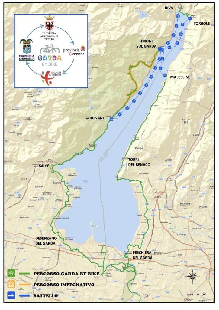 Piste Ciclabili Sul Lago Di Garda In Bicicletta Sul Lago
