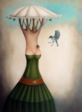 """La Mamma 48x35"""" Oil on canvas, 2013  SOLD"""