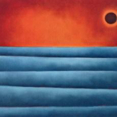 """Infinity #2  32x34"""" Oil on canvas, 2009  SOLD"""