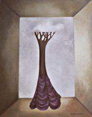"""Nicole on Sunset Blvd 24x12"""" Acrylic on canvas, 2006  SOLD"""