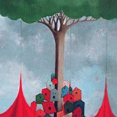 "Il coro 36x24"" Acrylic on canvas, 2005  SOLD"
