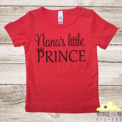 Toddler Tee - Nana's Little Prince
