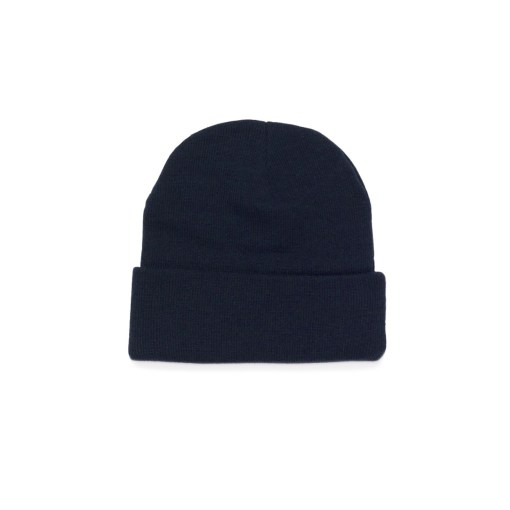 custom embroidered beanie navy